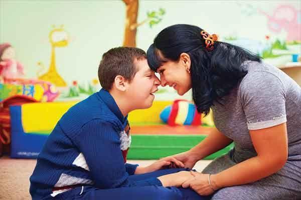 Ernährung neurologisch schwer behinderter  Kinder und Jugendlicher